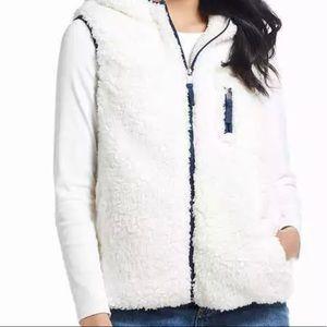 Original Weatherproof Vintage Hooded Sherpa Vest